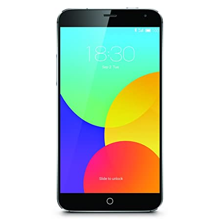Meizu MX4 Smartphone débloqué 4G (Ecran : 5,4 pouces - 16 Go - Simple SIM - Android 4.4 Kitkat) Gris
