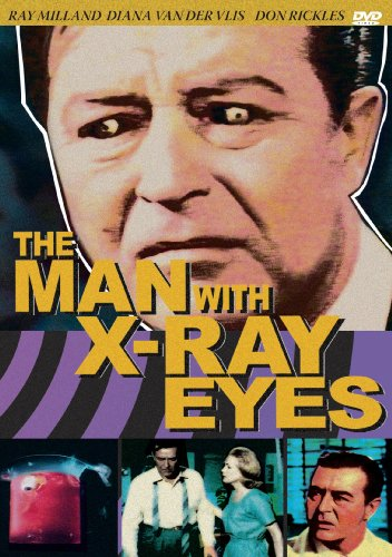 The Man With The X-Ray Eyes DVD