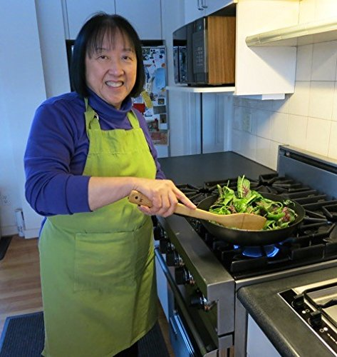 K Chen Fries helen chen 39 s kitchen nonstick wok stir fry excalibur pan 12 inch home garden dining