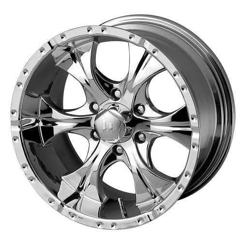 Helo Series HE791 Chrome - 17 X 8 Inch Wheel