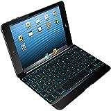 ZAGG Cover for iPad Mini & iPad Mini Retina , Hinged with Blacklit Keyboard - Space Grey