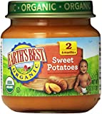 Earth's Best Organic Stage 2, Sweet Potatoes, 4 Ounce (Pack of 12)