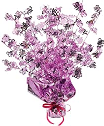 Bulk Buys Its A Girl Gleam N Burst Centerpiece - Case of 24