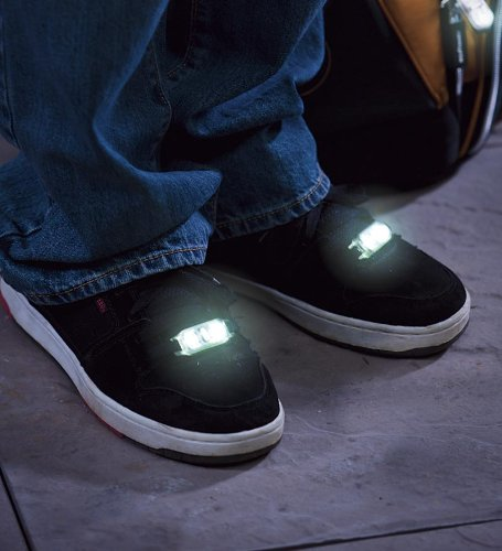 Led Decorations For Shoes And Zips, Set Of 2