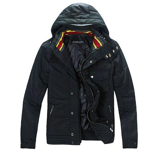 (ハイドロゲン)HYDROGEN メンズ アウター コート ジャケット (XL, ブラック)