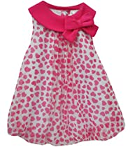 Baby Essentials Girls Hearts Bubble Romper 9 Month Pink
