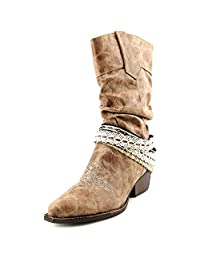 Womens Coconut Sarine Crochet Accent Boot