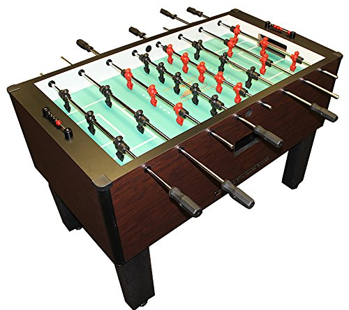 Gold-Standard-Home-Pro-Mahogany-Foosball-Chrome-Black