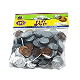 TEACHER CREATED RESOURCES PLAY MONEY ASSORTED COINS (Set Of 12)