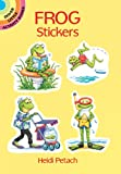 Heidi Petach Frog Stickers (Dover Little Activity Books Stickers)