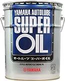 ヤマハ(YAMAHA) 二輪車用エンジンオイル AUTOLUBE Super 2サイクル用 半合成油 20L
