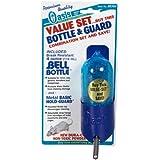 Kordon/Oasis (Novalek) SOA80304 Bell Bottle and Hold Guard Small Animal Value Set, 4-Ounce, variety colors