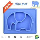 Mini Silicone Kids Placemat,Baby Feeding Mat,Silivo 10