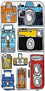 Snoogg Multi Camera Cartoon Designer Protective Back Case Cover Forsamsung Ga...