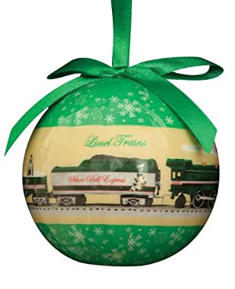 Lionel Trains 2013 Silver Bell Express Ornament