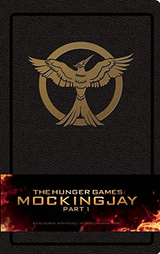 The Hunger Games: Mockingjay Part 1 Hardcover Ruled Journal (Large)