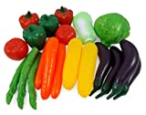 Life Sized Bag of Vegetables Play Food Playset for Kids - Great with Fruits Set!