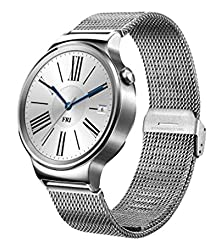 Huawei Watch Stainless Steel with Stainless Steel Mesh Band (Imported)