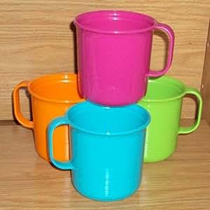 Tupperware Microwave Coffee Mugs, Stackable Coffee Cups
