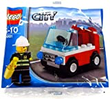 LEGO City: Fireman's Car Set 30001 (Bagged)