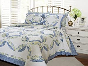 Greenland Home Francesca Quilt Set, King