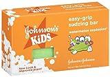 Johnson's Kids Easy-Grip Sudzing Bar, Watermelon Explosion, 2.46 oz