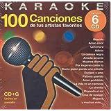 Karaoke 100 Canciones De Tus Artistas Favoritos