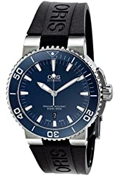 Oris Diving Aquis Date Mens Watch 733-7653-4155RS