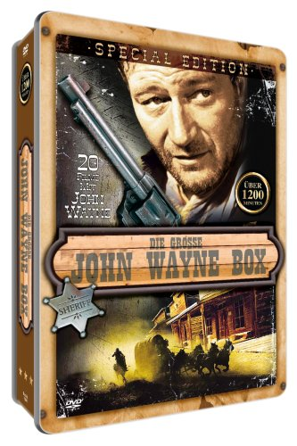 John Wayne Mega Metallbox (20 Filme) [Special Edition] [4 DVDs]
