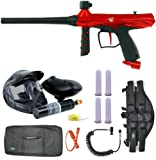 Tippmann Gryphon Paintball Gun PowerPack 4+1 3Skull Sniper Set - Red