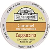 Grove Square Single Serve Caramel Cappucino Single serve cup 24 Ct for Keurig Brewers
