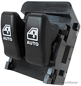 NEW 2000-04 Silhouette Power Window Master Control Switch Oldsmobile (2000 2001 2002 2003 2004 00 01 02 03 04 Olds, van, Drivers side, power, button, panel, door, lock)