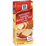 McCormick Imitation Vanilla Butter & Nut Flavor 2oz Bottle (Pack of 3)