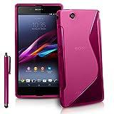 VCOMP® S-Line TPU Silikon Handy Schutzhülle für Sony