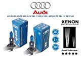 Pair of H1 12V 55w Super White Xenon HID AUDI A4 (8D2,B5) 1.8 95-00 FOG LAMPS (UP TO 1998) P14,5s
