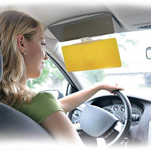 Pannello Visiera See Clear Vision Parasole Visiera Auto Hd alta definizione per una visione di guida perfetta di giorno e di notte, Aletta Schermante con clip per tutti i tipi di auto