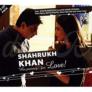 Shahrukh Khan - His Journey.. For Love! (2 CD Instrumental Set)