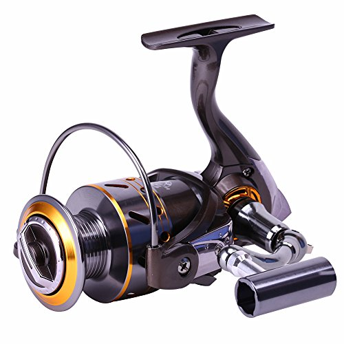 Sougayilang-Leftright-Interchangeable-Collapsible-Handle-Spinning-Fishing-Reel-with-521-Gear-Ratio-121-Ball-Bearings-for-Freshwater-Saltwater-Fishing
