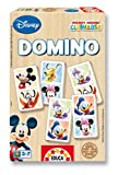 Educa 13856 Wooden Dominoes Mickey Mouse Club House