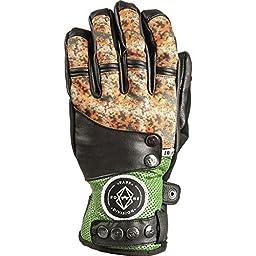 Rome Snowboards Men\'s Bowery Gloves, Camo, Medium