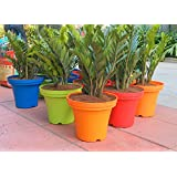 Colorful Light Weight Planters (white) 14 Inch Size