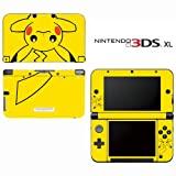 Pokemon Pikachu Decorative Video Game Decal Cover Skin Protector for Nintendo 3DS XL