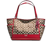 Coach Park Signature Carrie Tote 28728