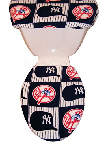 New york yankees toilet seat yankees toilet seat yankees for Yankees bathroom decor