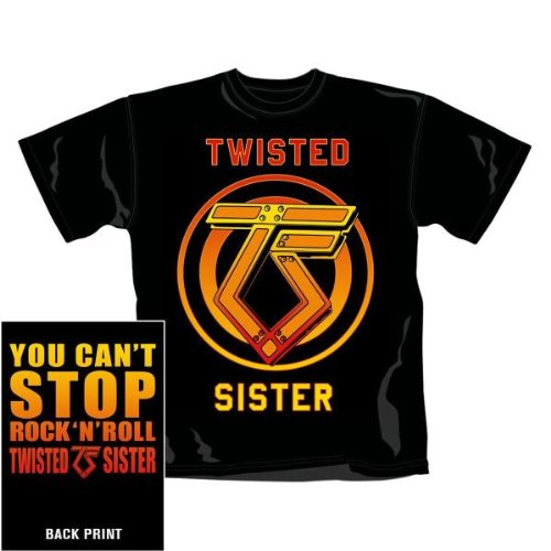 YOU CAN''T STOP ROCK N''ROLL (BLK,S,M)
