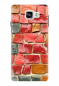 Noise Designer Printed Case / Cover for Samsung Galaxy A5 2016 Edition / Graffiti & Illustrations / Hued Wall Design