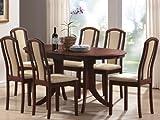Avana Dining Table 120 x 80 x 74 cm Designer Cherry Wood Extendable to 155 cm, width 155cm