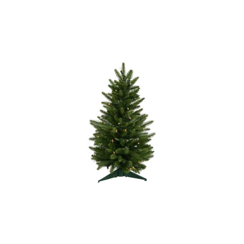 2 Pre Lit Frasier Fir Artificial Christmas Tree   Clear Lights