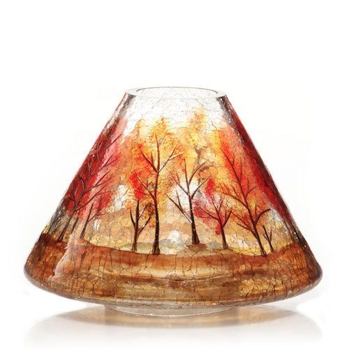 Amazon.com - Yankee Candle Autumn Leaves Crackle Jar Shade -