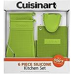 Cuisinart 6-Piece Silicone Kitchen Set - Green